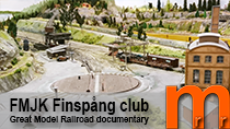 Video documentary of the layout Finspång owned and maintained by FMJK Sweden
