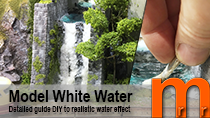 How to make ocean or lake water with wave effect low cost & EASY, using toilet paper and glue. Unlike many other methods, you don´t need to be an skilled artist to get a realistic water effect. Perfect for your model railroad / Railway, RPG miniature terrain, tabletop fantasy or diorama scenery.