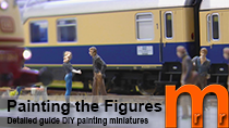 Painting the small figures - Detailed guide DIY